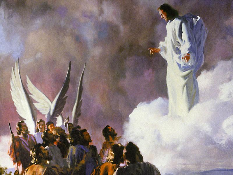 耶稣复活后四十天是升天日,纪念主耶稣完成了在世上的工作,升上高